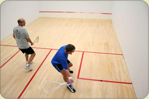 Squash at Seattle Athletic Club